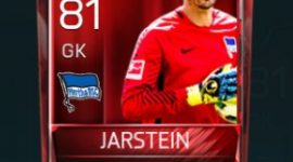 Rune Jarstein 81 OVR Fifa Mobile Base Elite Player