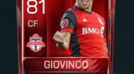 Sebastian Giovinco 81 OVR Fifa Mobile Base Elite Player
