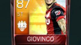 Sebastian Giovinco 87 OVR Fifa Mobile TOTW Player