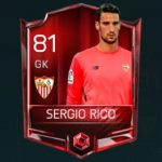 Sergio Rico 81 OVR (Base Elite)