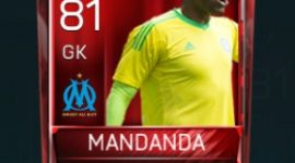 Steve Mandanda 81 OVR Fifa Mobile Base Elite Player