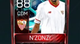 Steven Nzonzi 88 OVR Fifa Mobile La Liga Rivalries Player