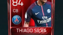 Thiago Silva 84 OVR Fifa Mobile Base Elite Player