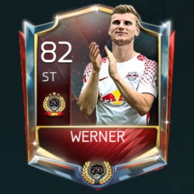 Timo Werner 82 OVR FIfa Mobile TOP 250 VS Attack Player