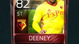 Troy Deeney Fifa Mobile Community Favourites Player