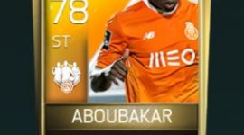 Vincent Aboubakar 78 OVR Fifa Mobile TOTW Player