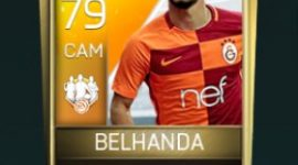 Younès Belhanda 79 OVR Fifa Mobile TOTW Player
