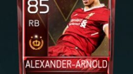 Alexander-Arnold 85 OVR Fifa Mobile Tournament Player