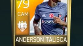 Anderson Talisca 79 OVR Fifa Mobile TOTW Player