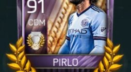 Andrea Pirlo 91 OVR Fifa Mobile AOE Player