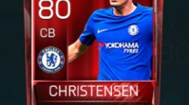 Andreas Christensen 80 OVR Fifa Mobile Base Elite Player