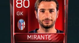 Antonio Mirante 80 OVR Fifa Mobile Base Elite Player