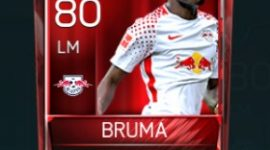 Bruma 80 OVR Fifa Mobile Base Elite Player