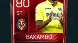 Cédric Bakambu 80 OVR Fifa Mobile Base Elite Player