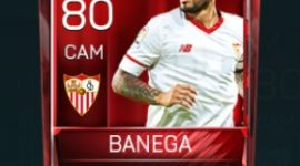 Éver Banega 80 OVR Fifa Mobile Base Elite Player