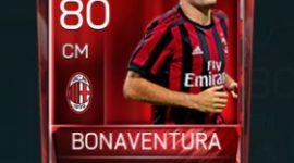Giacomo Bonaventura 80 OVR Fifa Mobile Base Elite Player