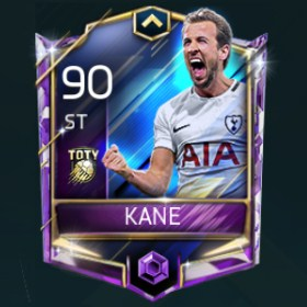 Harry Kane 90 OVR Fifa Mobile TOTY Player
