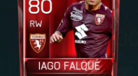 Iago Falque 80 OVR Fifa Mobile Base Elite Player