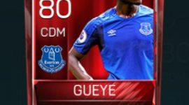 Idrissa Gueye 80 OVR Fifa Mobile Base Elite Player