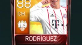 James Rodríguez 88 OVR Fifa Mobile TOTW Player