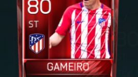 Kevin Gameiro 80 OVR Fifa Mobile Base Elite Player
