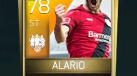 Lucas Alario 78 OVR Fifa Mobile TOTW Player