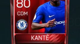 N'Golo Kanté 80 OVR Fifa Mobile Base Elite Player