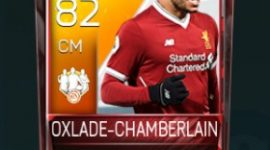 Oxlade-Chamberlain 82 OVR Fifa Mobile TOTW Player