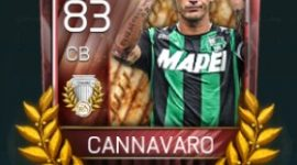 Paolo Cannavaro 83 OVR Fifa Mobile AOE Player