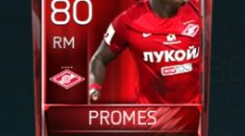 Quincy Promes 80 OVR Fifa Mobile Base Elite Player