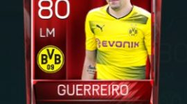 Raphaël Guerreiro 80 OVR Fifa Mobile Base Elite Player