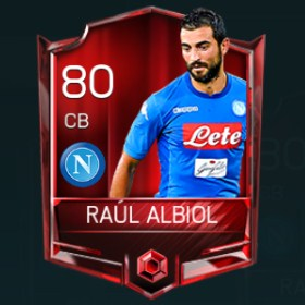 Raúl Albiol 80 OVR Fifa Mobile Base Elite Player