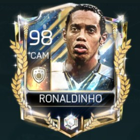 Ronaldinho 98 OVR Fifa Mobile AOE Player