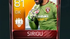 Salvatore Sirigu 81 OVR Fifa Mobile TOTW Player