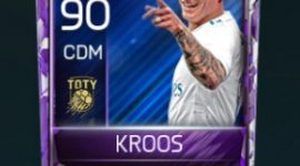 Toni Kroos 90 OVR Fifa Mobile TOTY Player
