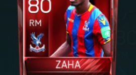 Wilfried Zaha 80 OVR Fifa Mobile Base Elite Player