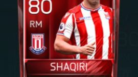 Xherdan Shaqiri 80 OVR Fifa Mobile Base Elite Player