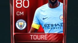 Yaya Touré 80 OVR Fifa Mobile Base Elite Player