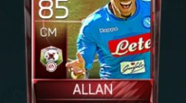 Allan 85 OVR Fifa Mobile Matchups Player