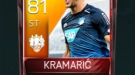 Andrej Kramarić 81 OVR Fifa Mobile 18 TOTW February 2018 Week 2 Player