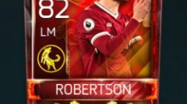 Andrew Robertson 82 OVR Fifa Mobile 18 Lunar New Year Player