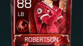 Andrew Robertson 88 OVR Fifa Mobile 18 Lunar New Year Player