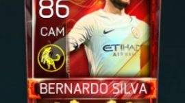 Bernardo Silva 86 OVR Fifa Mobile 18 Lunar New Year Player
