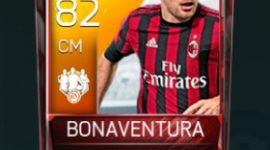 Bonaventura 82 OVR Fifa Mobile 18 TOTW February 2018 Week 3 Player