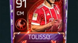 Corentin Tolisso 91 OVR Fifa Mobile 18 Lunar New Year Player