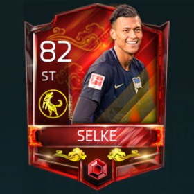 Davie Selke 82 OVR Fifa Mobile 18 Lunar New Year Player