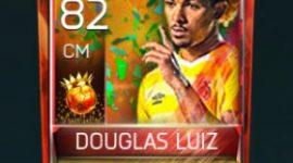 Douglas Luiz 82 OVR Fifa Mobile 18 Carniball Player