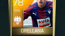 Fabián Orellana 78 OVR Fifa Mobile TOTW Player