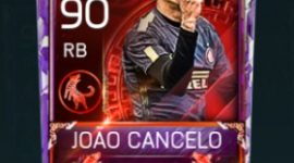 João Cancelo 90 OVR Fifa Mobile 18 Lunar New Year Player