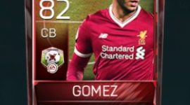 Joe Gomez CB 82 OVR Fifa Mobile Matchups Player